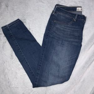 hollister skinny jeans - medium wash